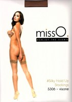MissO sheer silky stayup stockings