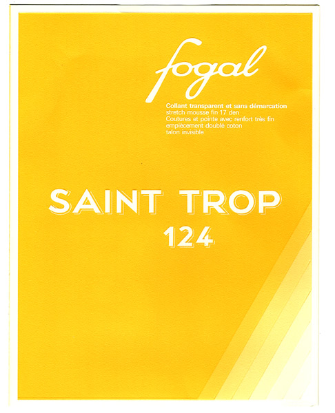 Fogal St Trop 124 sheer pantyhose