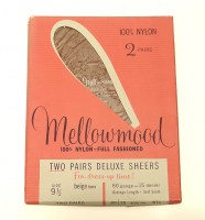 Mellowmood Self Seamed Vintage Stockings